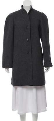 Halston Structured Wool Jacket