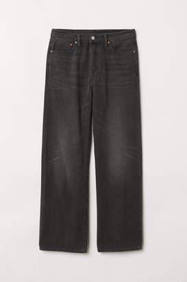 H&M Vintage Loose Jeans - Black