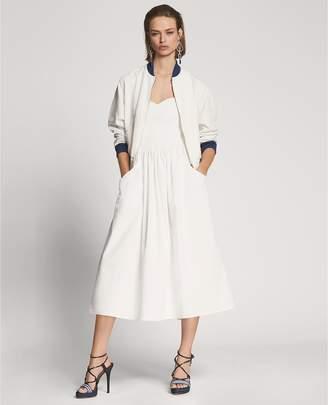 Ralph Lauren Ruthie Cotton Strapless Dress