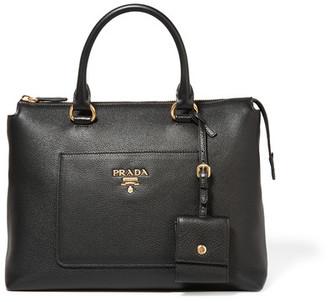 Prada - Textured-leather Tote - Black $1,510 thestylecure.com