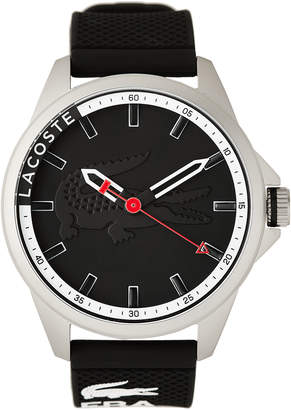 Lacoste 2010857 Silver-Tone & Black Watch
