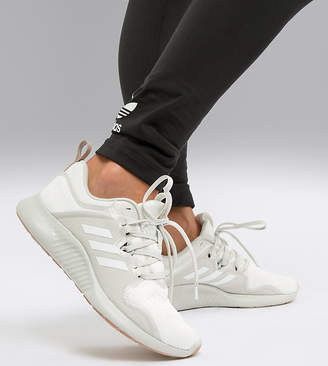 adidas edgebounce trainers in white