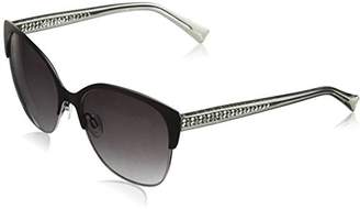 Cole Haan Women's Ch7042 Metal Cateye Sunglasses
