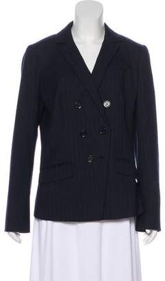 Tory Burch Striped Wool-Blend Blazer