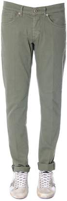 Dondup George Green Color Cotton Jeans