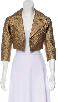 Creatures of the Wind Jacquard Cropped Jacket