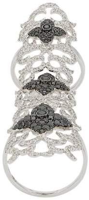 Elise Dray embellished cuff ring