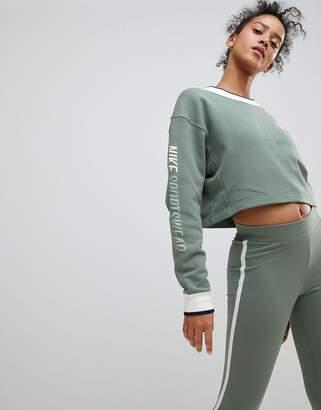 Nike Archive Reversible Sweatshirt In Green