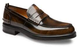 Bally Mody Leather Penny Loafers
