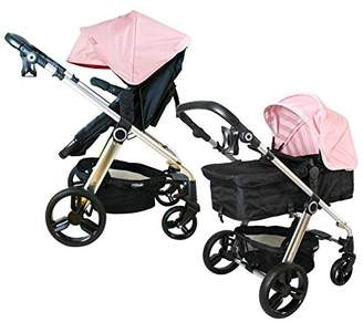 My Babiie MB150 Baby Pink Pram & Pushchair