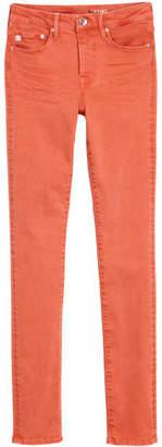 H&M Shaping Skinny Regular Jeans - Red