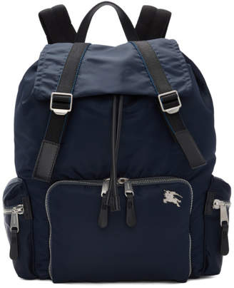 32ee3fefc46 Burberry Blue Medium Aviator Backpack