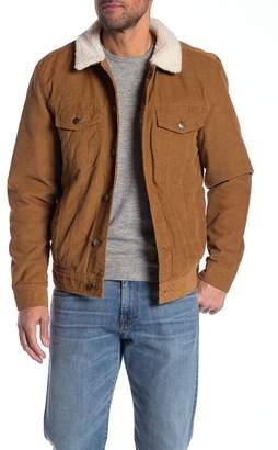 Weatherproof Corduroy Faux Shearling Lined Jacket