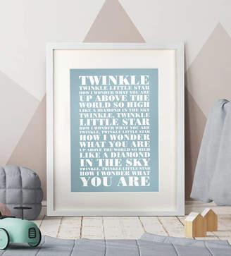 Over & Over Personalised Nursery Rhyme Print