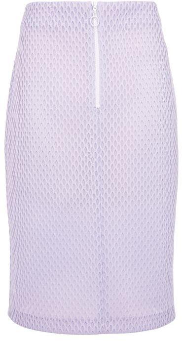 TopshopTopshop Honeycomb pencil midi skirt