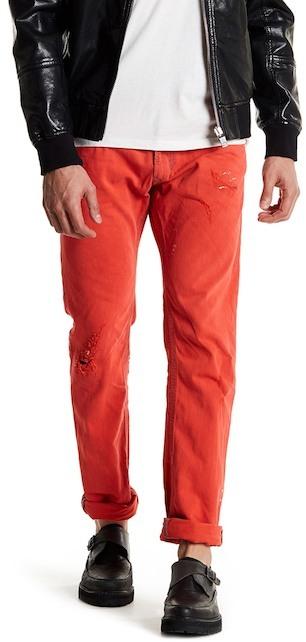 DieselDiesel Thavar Splatter Skinny Jean