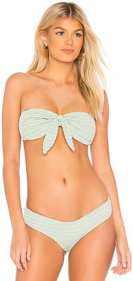 Montce Swim Cabana Tie Up Top