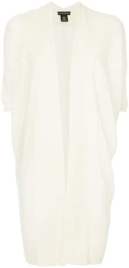 cashmere short sleeves cardi-coat