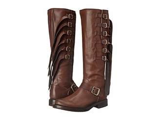 Frye Veronica Strap Tall Cowboy Boots