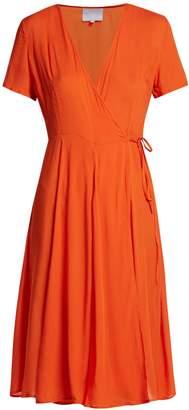 BOWER Casablanca cotton wrap dress