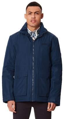 Regatta Blue 'Hebson' Insulated Hooded Waterproof Jacket