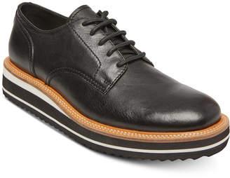 Steve Madden Self Made by Men's Sufraget Leather Platform Oxfords Men's Shoes