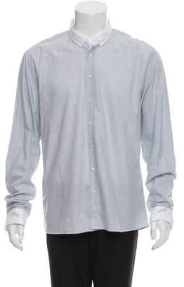 Balmain Long Sleeve Button-Up Shirt