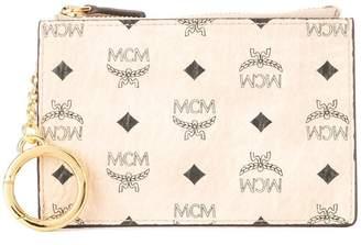 MCM logo print coin purse