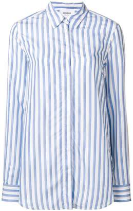 Dondup long striped shirt