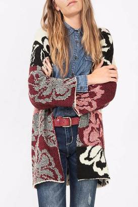 DESIGUAL Carcassone Sweater Cardigan $145.95 thestylecure.com