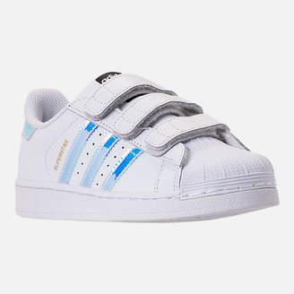 adidas Girls' Little Kids' Superstar Casual Shoes