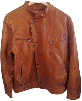 Cameo Brown Leather Jacket for Women