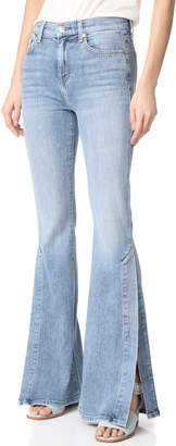 7 For All Mankind Ali Jeans with Split Seams $229 thestylecure.com