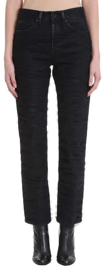 Tully Straight Leg Black Jeans