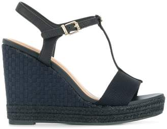 Tommy Hilfiger T-strap wedge sandals