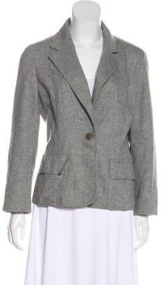 Club Monaco Wool-Blend Tweed Blazer