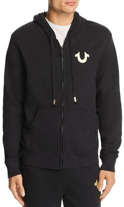 True Religion Puff-Print Graphic Hoodie