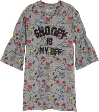Little Eleven Paris Little ELEVENPARIS Peanuts(R) Snoopfriends Sweatshirt Dress