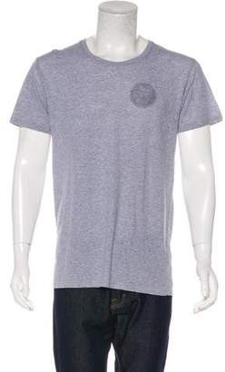 Balmain Distressed Graphic T-Shirt
