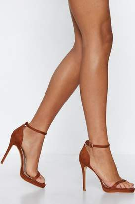Nasty Gal Stepping Out Stiletto Heel