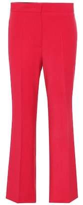 Fendi Wool-blend cropped pants