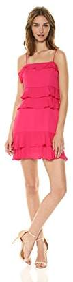 Parker Women's Kristie Spaghetti Strap Ruffle Short Dress