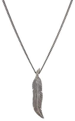 M. Cohen Men's Scribe's Quill Pendant Necklace