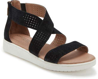e49d7abc1c Tucker Adam by Me Too Adam Rayna Perforated Wedge Sandal