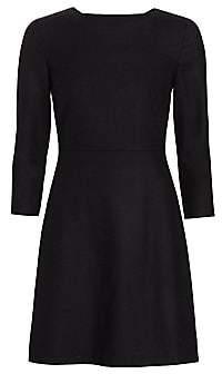 Theory Women's Kamillina Virgin Wool Shift Dress - Size 0