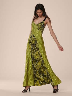 Diane von Furstenberg Paneled Maxi Dress