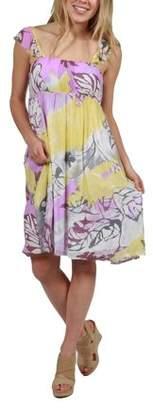 24/7 Comfort Apparel 24Seven Comfort Apparel Andrea Summer Dress