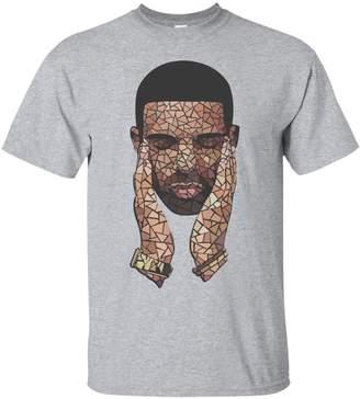 Drake Inspired Mosaic Tshirt High Quality Print Drake Inspired Mosaic Tshirt Print