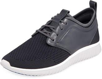 Cole Haan Men's Grand Motion Knit Sneaker, Dark Gray