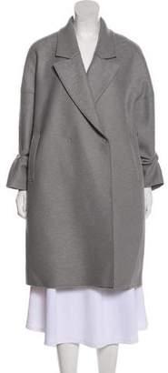 Harris Wharf London Virgin Wool Knee-Length Coat